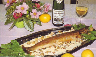 truite sauce jurançon
